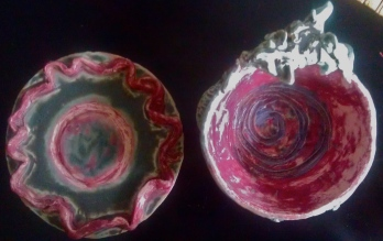 Dragon Bowl and Plate View 2