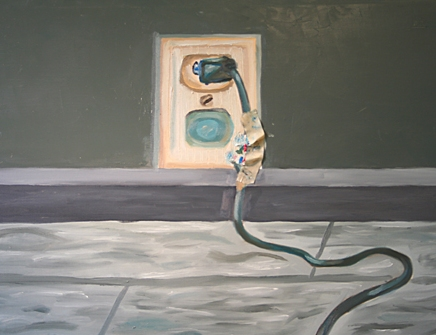 Oil Paint, 24x30 inches, 2006