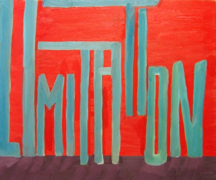 Oil Paint, 20x24 inches, 2006
