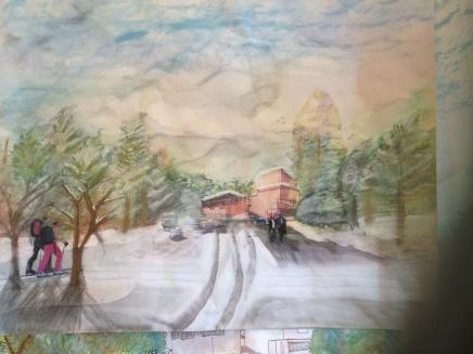 Saynatsalo Atmospheric Drawing